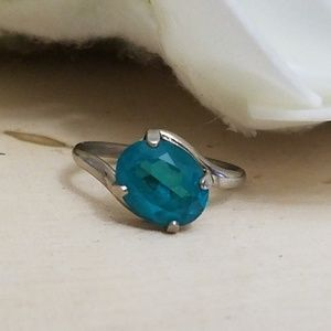 Jewelry - 925 Sterling Silver Vintage Apatite Ring Size 5.5